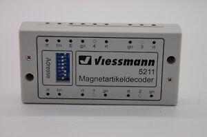 Viessmann 5211 Magnetartikeldecoder / Weichendecoder