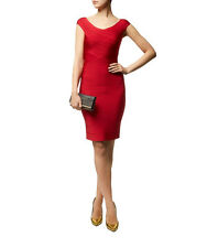"Herve Leger ""Tayler"" Bandage Dress in Lipstick Red Medium $1345"