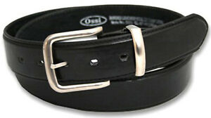 Ossi Mens Belt Leather Lined Dress Casual Waist Buckle Q5050