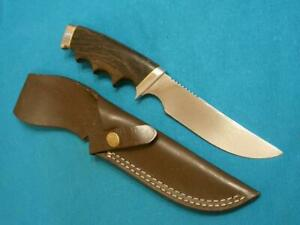 VINTAGE GERBER USA 525 WYOMING CENTENNIAL HUNTING SKINNING SURVIVAL BOWIE KNIFE