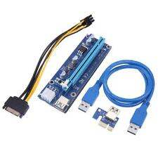 PCI-E 1X to 16X USB3.0 Riser 009S Adapter Card Extension Cable for BTC Miner