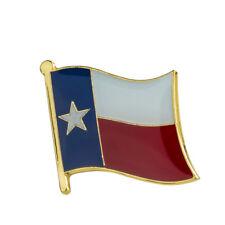 Hat Tie Tack Badge Pin Free Shipping Texas Flag Lapel Pin 19 x 16mm