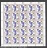 Bund BRD 1388 Tag der Briefmarke 1988 kompl.Bogen postfrisch FN 1 Full sheet MNH