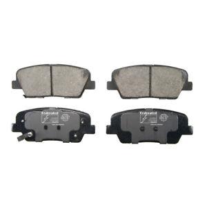 Disc Brake Pad Set Rear Federated D1284C