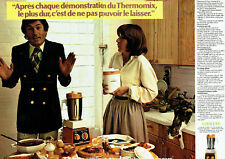 Publicité Advertising 028  1978   le Thermomix  vorverk (2p) mixeur cuiseur