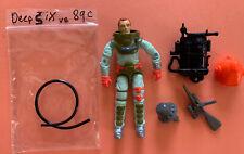 G.I. Joe 89 Deepsix Deep Six Joints Tight Arah 100% Complete