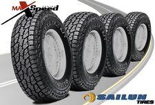 (Qty of 4) Sailun Terramax A/T 4S 275/65/20 126/123R BSW SL All Terrain Tires