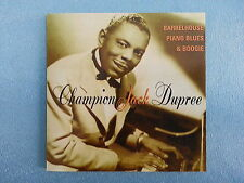 "CHAMPION JACK DUPREE     ""BARRELHOUSE PIANO BLUES & BOOGIE""     IMPORT CD / USED"