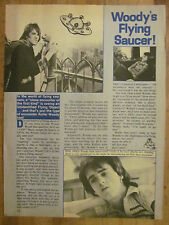 Bay City Rollers, Woody Wood, Full Page Vintage Clipping