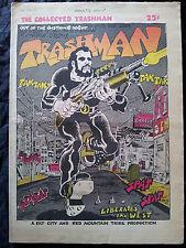 TRASHMAN Vol 1 # 1 1969 Spain Rodriguez BD Contre culture Underground Comix RARE