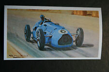 Talbot-Lago   Louis Chiron  1947 French GP  # Motor Racing Card   VGC