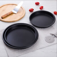 Non-stick With Removable Bottom Cake Mold Pizza Pan Bakeware Baking Supplies LE