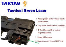 Taryag Tactical Green Laser Sight for 21mm Weaver Rails