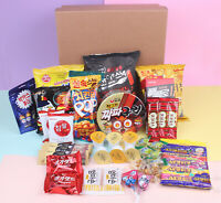 20 Piece Korean Snack Variety Box Chips, Noodles, Tea, Cookies, Pies & Candies