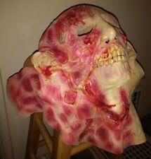 The Walking Dead Halloween Costumes Rubber Bloody Walkers Adults Full Head