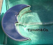 NEW TIFFANY & CO. 925 Sterling Silver Man in the Moon Tooth Trinket Box NIB