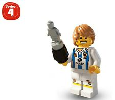 Lego Series 4 Collectible Minifigure: SOCCER PLAYER--FLAT RATE SHIPPING!
