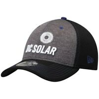 New Era Kyle Larson Graphite DC Solar Black Neo Sponsor 39THIRTY Flex Hat