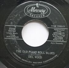50'S & 60'S 45 Del Wood - The Old Piano Roll Blues / Columbus Georgia Blues On M