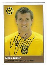 #180 Mads Junker - AH 2009 2010 football trading card sticker