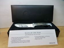 NIB RARE DUCKS UNLIMITED 2010 KNIFE OF THE YEAR Model 103 Skinning BUCK Knife