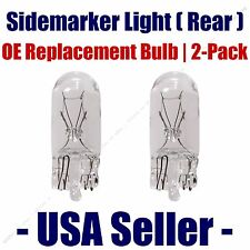 Sidemarker (Rear) Light Bulb 2pk - Fits Listed Alfa Romeo Vehicles - 2821