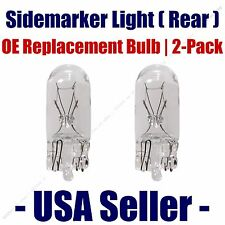 Sidemarker (Rear) Light Bulb 2pk - Fits Listed Volkswagen Vehicles - 2821