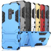 Antiurto Cover per Samsung Galaxy S9/+ TPU Ibrida Custodia Protezione Silicone