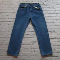 Vintage Levis 501 Denim Jeans Made in USA Medium Wash Womens Size 32