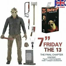 "NECA Friday The 13th Part 4 The Final Chapter Jason Voorhees 7"" Action Figure UK"