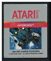 1986 Atari Corp Silver Label Asteroids Atari 2600 Video Game cartridge