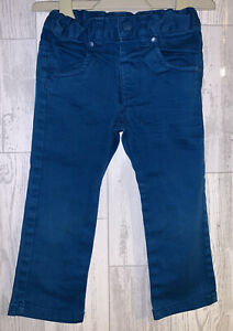 Girls Age 12-18 Months - JBC Peacock Blue Jeans - Excellent Condition