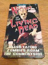 NIGHT OF THE LIVING DEAD VHS 1968 1994 Zombie Horror O'Dea Jones Hardman Wayne
