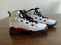 Nike Jordan 6-17-23 GS White/Gym Red-Black Size 5.5Y 428818-100