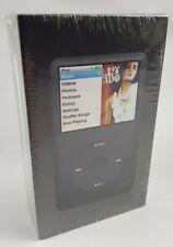 Apple iPod Classic 6th Gen. 80GB - Black/Slate Brand New - Sealed