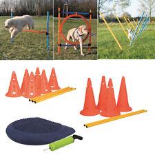 TRIXIE Dog Activity Agility Hürde Ring Agility Slalom Hindernis Set