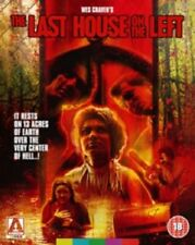 Last House on The Left Limited Edition (2x Blu-ray 1 Cd) Arrow IMPORT