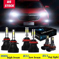 Philips High Low Beam Headlight Bulb for Chevrolet Cavalier Cobalt Equinox sp