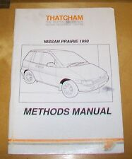 Nissan Prairie 1990 Thatcham Manual de métodos de carrocerías. 1989