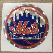 New York Mets Vintage 80s MLB Sticker