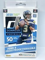 2020 Panini Donruss Football NFL Hanger Box Blue Retail Cards New Sealed