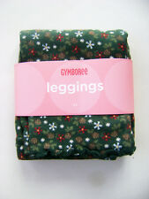 GYMBOREE Mountain Cabin Green Floral Pine Cone Girls Leggings 12 18 M NEW