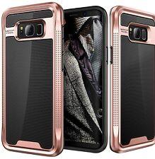 Samsung Galaxy S8 Case E LV Galaxy S8 - Hybrid [Scratch/Dust Proof] Armor Defen