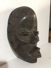 African Tribal Dan Mask Face Africa Antique Masque Art Passport Ivory coast