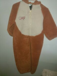 Disney Catalog Chip Costume Chip And Dale Vintage Rare Halloween Size 4t-6t