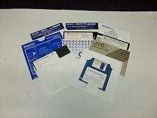 """Software bundl, Floppy discs 5,25"""", Vintage, 8 Teile / Parts,  #K-22-7"""