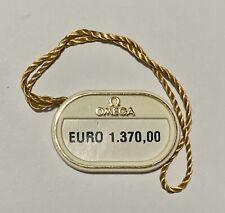 1530 18k 33mm on Leather Original #3 Omega Gold Dress Watch Tag Hangtag 79102301