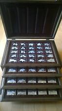 STERLING SILVER CENTENNIAL CAR INGOT COLLECTION SET MINTED BY THE FRANKLIN MINT