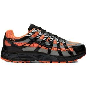 Nike Mens P6000 Black/Orange Trainers CD6404 800 Multiple Sizes