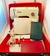 Bernina 807 Minimatic Sewing Machine Case Ext Table Extra Feet Original Manual